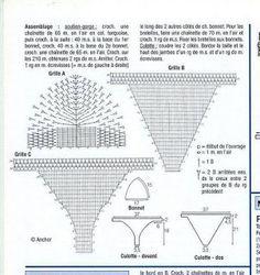Crochet Patterns to Try: Free Chart for Crochet Bikini Swimsuit - 2 Bikini…