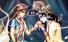 Radha Krishna Images, Radha Krishna Love, Radhe Krishna, Lord Krishna, Krishna Names, Cute Krishna, Krishna Drawing, Krishna Painting, Good Morning Inspiration
