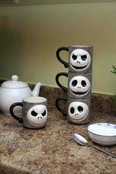 Nightmare Before Christmas mugs!!!