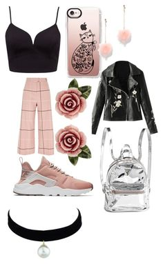 """""""Untitled #3"""" by stefania-serban on Polyvore featuring River Island, Casetify, New York & Company, NIKE and Dolce&Gabbana"""
