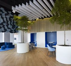 Aegon Office Visitor Center ground floor visitor center for global insurance firm Aegon located in Madrid, Spain.