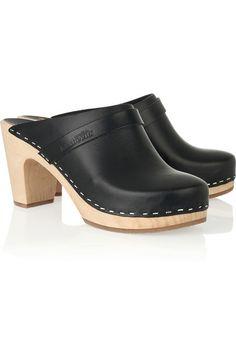Mujer a la moda: Actualidad, moda, y todo para la mujer: Suecos Hasbeens Super High Leather
