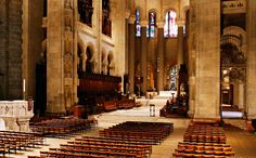 The Cathedral of St. John the Divine, officially the Cathedral Church of Saint John the Divine in the City and Diocese of New York, is the cathedral of the Episcopal Diocese of New York. Located at 1047 Amsterdam Avenue, New York City.