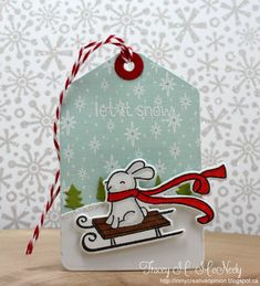 Lawn Fawn Christmas Tag > 25 days of Christmas Tags Day 18 (11.21.14)