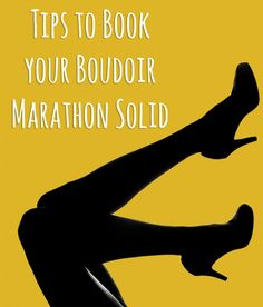 Tips to Book Your BOUDOIR MARATHON Solid - By: Boudieshorts.com
