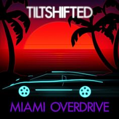 Second single released on 22nd of Jan 2016. Check it out at https://tiltshifted.bandcamp.com Background done with Photoshop vector tools, palm trees edited in Inkscape and imported to Photoshop. Car was an online 3D model heavily customized in Blender and imported to Photoshop as 3D layer. #albumcover #synthwave #outrun