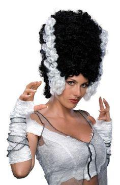 Monster Bride of Frankenstein Wig 50794 @ niftywarehouse.com #NiftyWarehouse #Frankenstein #Halloween #Horror #HorrorMovies #ClassicHorror #Movies