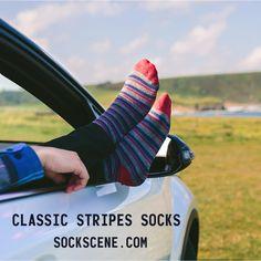 Funky Socks, Cool Socks, Smart Socks, Find 5, Custom Socks, Striped Socks, Fashion Socks, Color Stripes, Socks Package