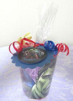 🎉Avengers Stocking Stuffers Party Favor Souvenir Cups Super Heroes Goodie Bag  #AvengersHulkIronManCaptainAmerica #BirthdayChild
