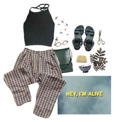 """hi"" by paper-freckles ❤ liked on Polyvore featuring Jil Sander and Free People"