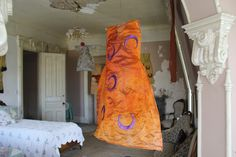 Clothes from the Past, Installation view at the Dole Mansion, IL, 2017 by Belgin Yucelen