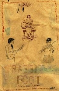rabbit foot duo (such charm!)