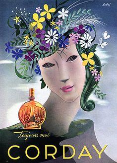 * parfums Corday 1944 Toujours Moi - Vladimir Bobri (Bobritsky)
