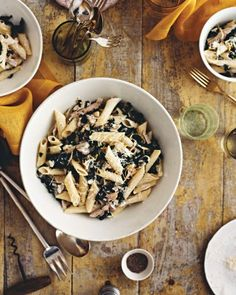 """See+the+""""Penne+with+Goat+Cheese,+Kale,+Olives,+and+Turkey""""+in+our+Healthy+Kale+Recipes+gallery"""