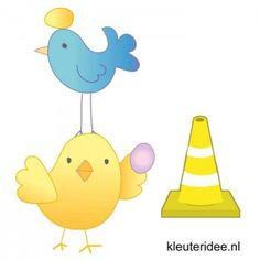Gymles voor kleuters thema lente 2, kleuteridee.nl