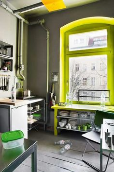 Plus de 1000 id es propos de loft 422 yellow sur pinterest chaises jaunes jaune et cuisines - Kinderkamer coloree ...