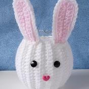 Bunny Jar Cozy - via @Craftsy