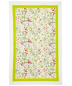 Flowers of Liberty Theodora Liberty Print Cotton Tea Towel   Kitchen Accessories   Liberty.co.uk