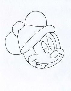 topolino-disegno-di-Natale-6.jpg (1725×2202)