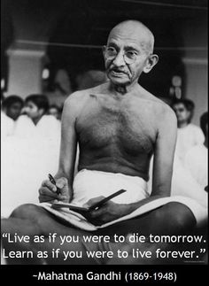 Mahatma Gandhi - assassinated preeminent leader of Indian nationalism in British-ruled India. Mahatma Gandhi, Famous People In History, Beatles, Losing Faith, Extraordinary People, People Of Interest, Great Leaders, World Leaders, Faith In Humanity