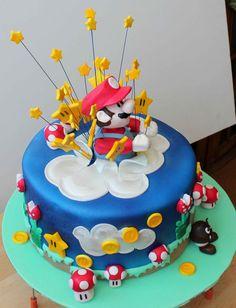 Super+Smash+Mario+Brothers+Cakes   Tarta Super Mario Bros - Super Mario Bros exploding cake