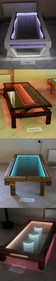 Handmade Infinity Tables #DIY inspiration