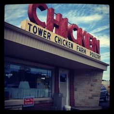 Tower Chicken Farm, Milwaukee, WI Milwaukee City, Milwaukee Wisconsin, Good Old, Old Things, Tower, Thanksgiving, Memories, Spaces, Chicken