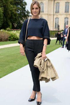 Street Style #fashion #style #streetstyle #bestof2014 #vogue