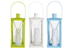Colored Lanterns / Garden Variety
