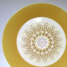 Vintage 1969 Homer Laughlin Malibu Plates by CedarRunVintage, $12.00