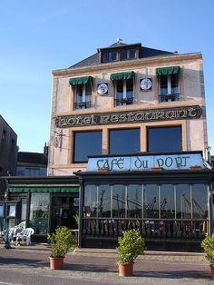 Cafe Du Port, Cherbourg, Normandy