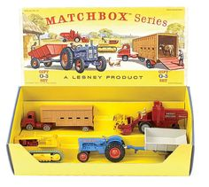 Lesney Matchbox box set / Vintage Toys Wanted by the-toy-exchange - http://www.cash-for-vintage-toys.co.uk/