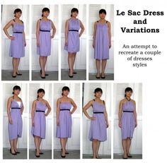DIY Le Sac Dress