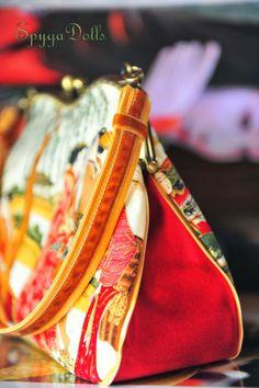"""details of the handles: Colección """"Geisha"""" by SpygaDolls"""