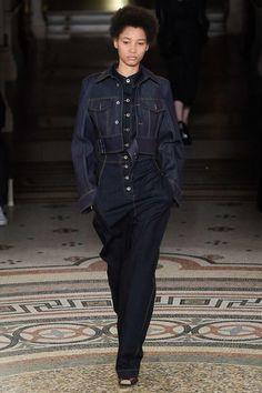 Stella McCartney Fall 2017 Ready-to-Wear Fashion Show - Lineisy Montero (Next)
