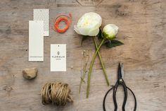 Floralia / simple branding / typography / florist branding