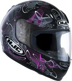 One For the Ladies - HJC CL-Y Tableau Pink Small Shell Helmet £89.99