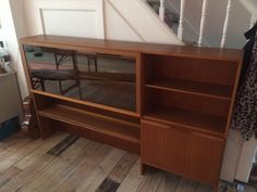 Mid Century Retro Mackintosh Display Cocktail Cabinet in Home, Furniture & DIY, Furniture, Cabinets & Cupboards | eBay