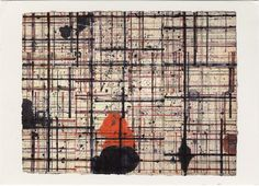 A beautiful drawing by Brice Marden 4 and 3 Drawing 1979-81 Collection Phil Schrager. *If you are the copyright holder of anything posted here, and do not wish it to be made available, please conta...