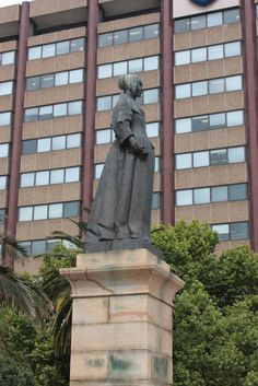 Statue of Maria de la Quellerie, Cape Town by Kleinz1, via Flickr