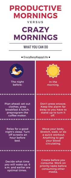 Ready for productive mornings? You can create your perfect morning routine by…
