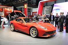 The new Ferrari F12berlinetta.