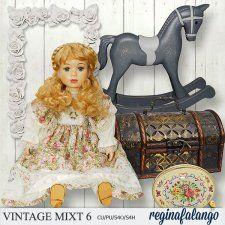 Vintage mixt 6 by reginafalango #CUdigitals cudigitals.com cu commercial digital scrap #digiscrap scrapbook graphics