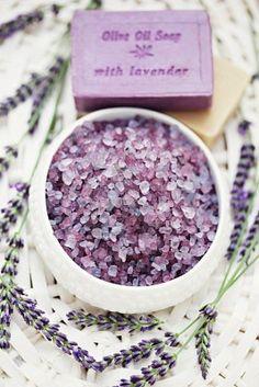 Lavender crystals & soap~