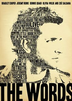 Affiche du film The Words