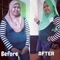 To good to be true,, but Yes,,, its true,, My lovely wife, loss 10kilograms,, Dulu kayak emak-emak, sekarang mbak-mbak,,,