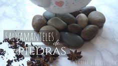 Salvamanteles de piedras Breakfast, Diy, Food, Rocks, Manualidades, Morning Coffee, Bricolage, Essen, Do It Yourself