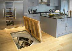 Underground Spiral Wine Cellar Storage System 5