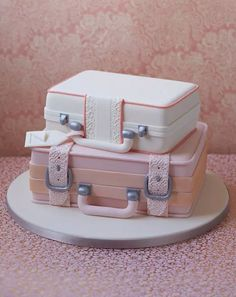 The Cake Parlour designs and creates beautiful celebration cakes for birthdays, christenings and other special occasions. Luggage Cake, Suitcase Cake, Fondant Cakes, Cupcake Cakes, Cupcakes, Farewell Cake, Travel Cake, Paris Cakes, Traditional Wedding Cakes