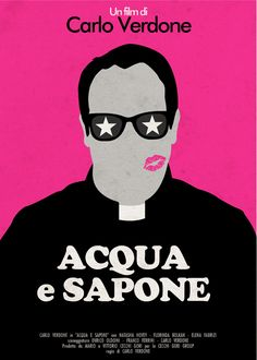ACQUA E SAPONE - Carlo Verdone (1983) / Artwork by Federico Mancosu